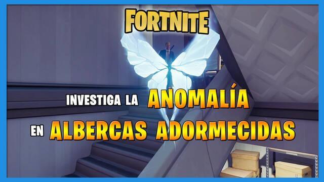 Fortnite: dónde encontrar la anomalía de Albercas Adormecidas