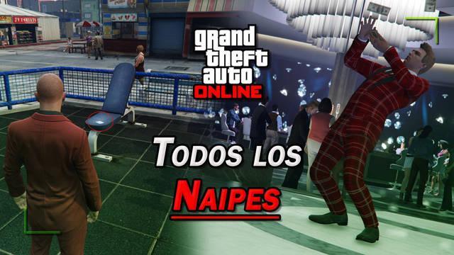GTA Online: TODOS los Naipes (cartas) y cómo conseguirlos