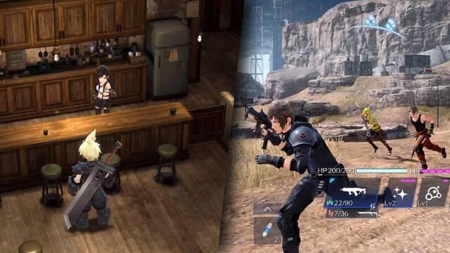 Nuevos detalles de Final Fantasy 7 The First Soldier y Ever Crisis.