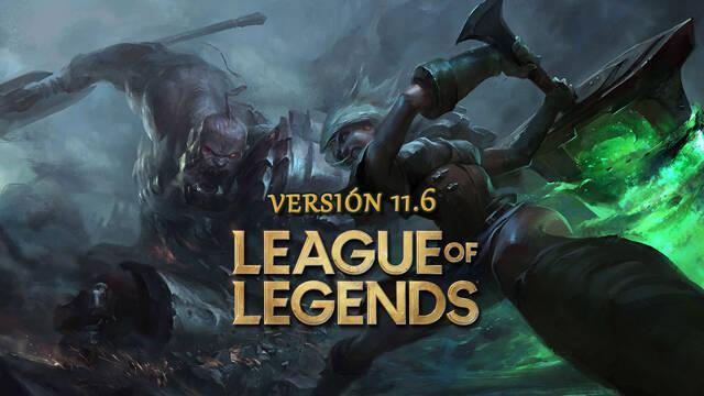 League of Legends v11.6: Ajustes a campeones y cambios en la curación sistémica