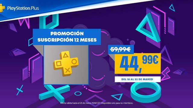 Consigue PS Plus con un 25% de descuento en PS Store y aprovecha sus ventajas