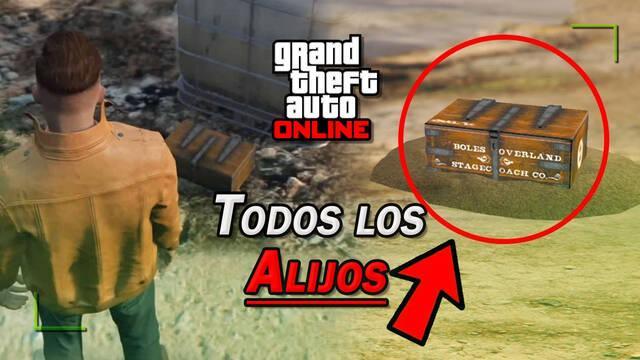 GTA Online: TODOS los Alijos ocultos y cómo conseguirlos