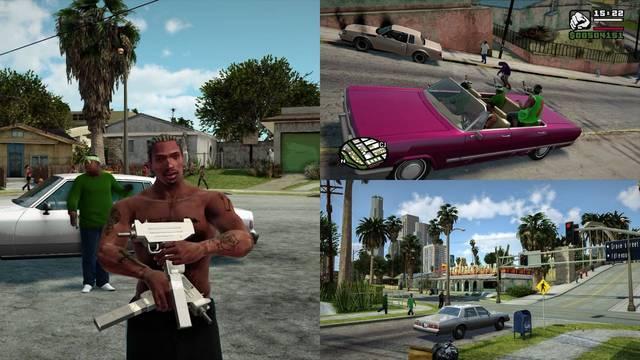 GTA San Andreas mejorado con mods