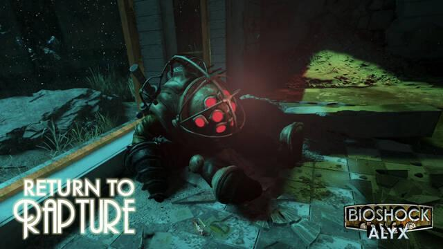 Half-Life: Alyx: El mod Return to Rapture se convierte en una campaña completa