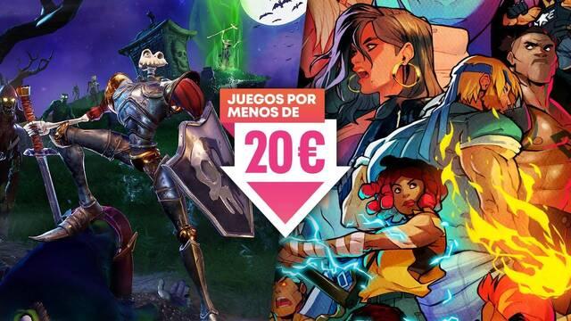 Juegos por menos de 20 euros en la PS Store de PS4 y PS5.
