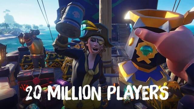 Sea of Thieves y sus 20 millones de jugadores