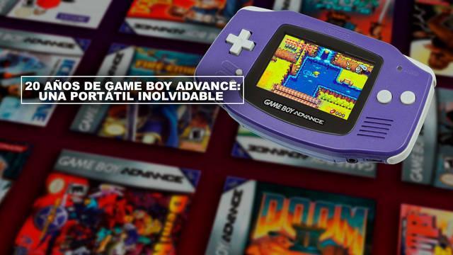 20 años de Game Boy Advance: Una portátil inolvidable