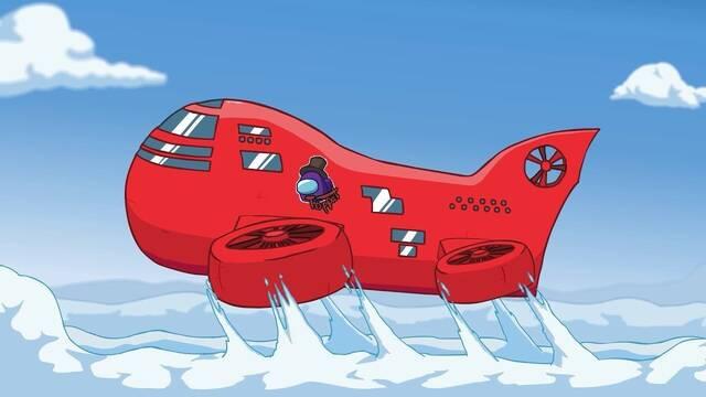 Among Us y el nuevo mapa Airship