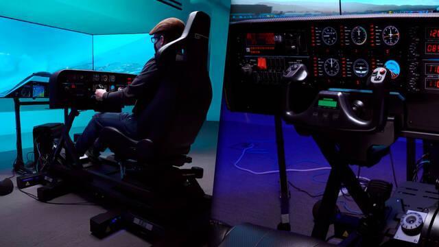 Este equipo para jugar a Microsoft Flight Simulator es más caro que una avioneta