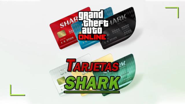Tarjetas tiburón en GTA Online: Tipos, cómo comprar y precios