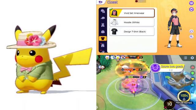 Pokémon Unite gameplay beta