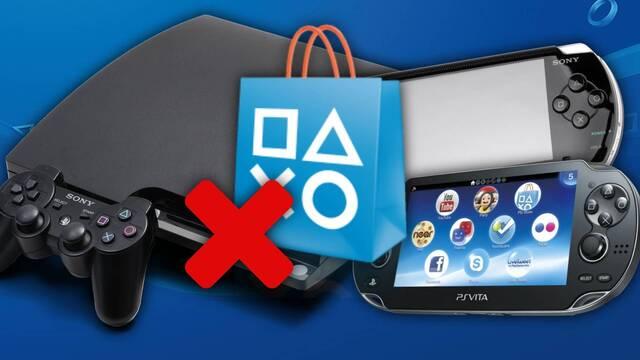 Sony cerrará las PS Store de PS3, PSP y PS Vita en julio.