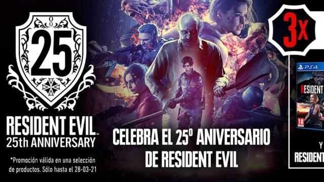 Celebra el 25 aniversario de Resident Evil en GAME.