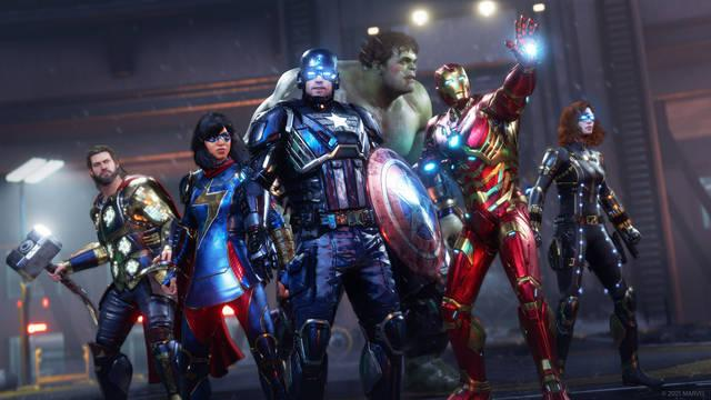 Comparativa de Marvel's Avengers en PS5 y Xbox Series X/S.