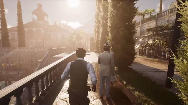 Sherlock Holmes Chapter One mundo abierto gameplay