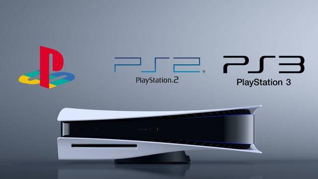 PS5 retrocompatibilidad PS3 PS2 PSX