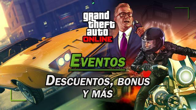 Eventos de GTA Online: Tipos, descuentos y bonificaciones; todos los detalles