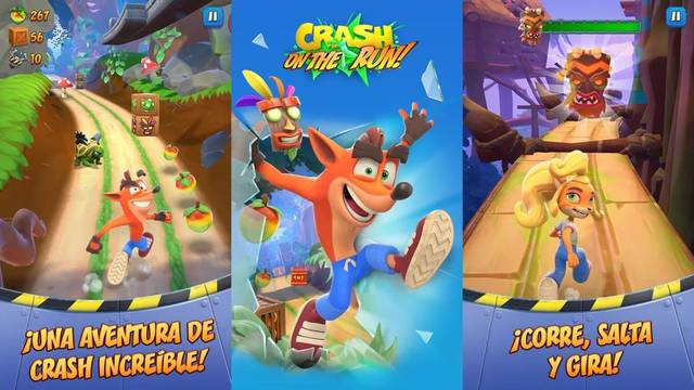 Crash Bandicoot: On the Run! ya está disponible en móviles
