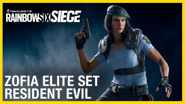 Rainbow Six Siege Elite Zofia Jill Valentine