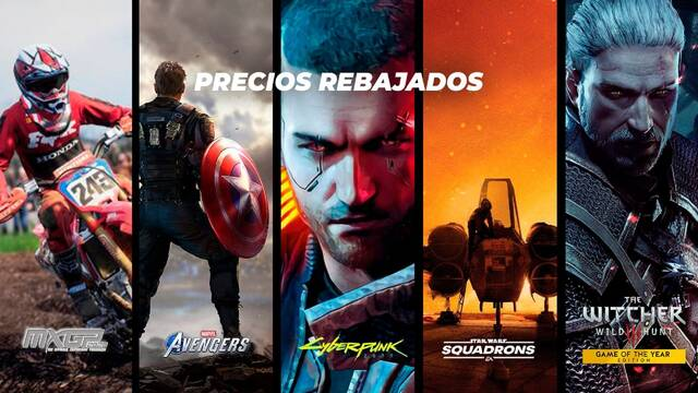 TTDV oferta Cyberpunk Avengers Star Wars The Witcher