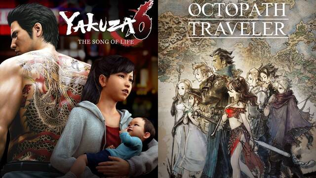 Xbox Game Pass novedades Yakuza 6 Octopath Traveler