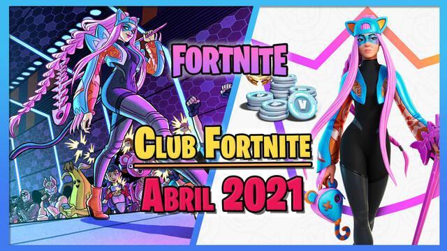Fortnite: Skin de Alli del Club Fortnite en abril 2021; novedades y pack