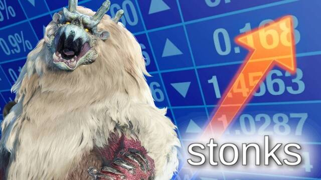 Las acciones de Capcom alcanzan su valor máximo histórico por el lanzamiento de Monster Hunter Rise.