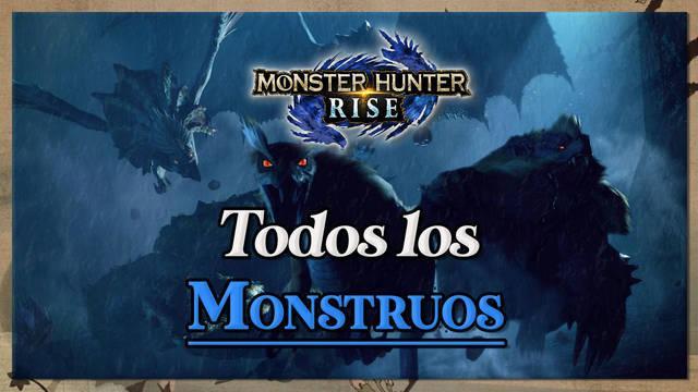 TODOS los Monstruos de Monster Hunter Rise: Bestiario completo