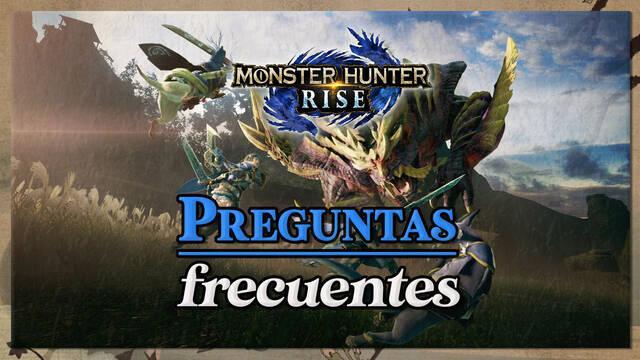 Preguntas frecuentes en Monster Hunter Rise