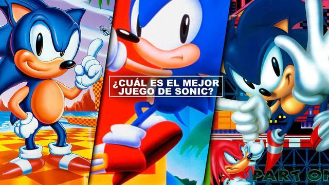¿Cuál es el mejor juego de Sonic? - TOP 10