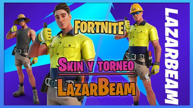 Fortnite: Consigue gratis la skin de LazarBeam compitiendo en Superempuje de Fresh