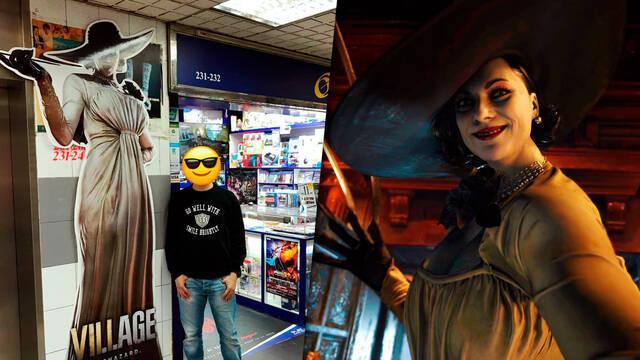 Capcom promociona Resident Evil 8 con una Lady Dimitrescu a tamaño real