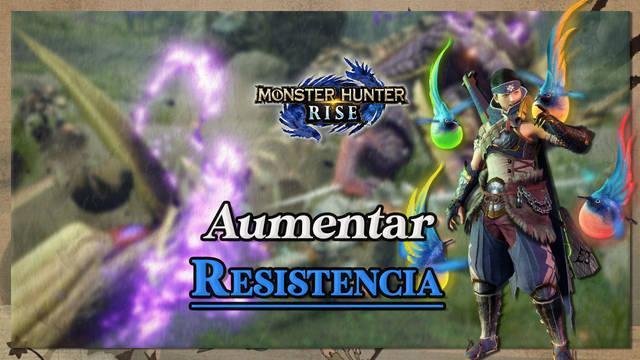 Monster Hunter Rise: Cómo aumentar la resistencia al máximo y recuperarla