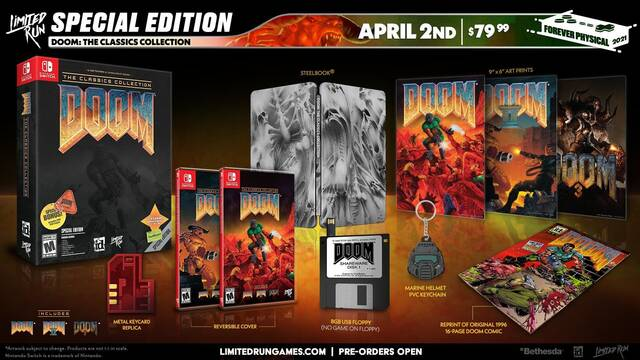 Doom The Classic Collection Limited Run Games