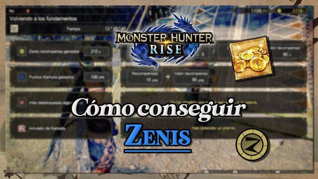 Monster Hunter Rise: Cómo conseguir zenis rápidamente