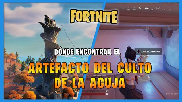 Fortnite: dónde encontrar el artefacto del culto de La Aguja