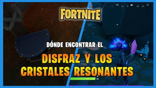Fortnite: dónde encontrar el disfraz y los cristales resonantes