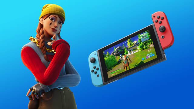 Fortnite Battle Royale se actualiza en Nintendo Switch y mejora su resolución