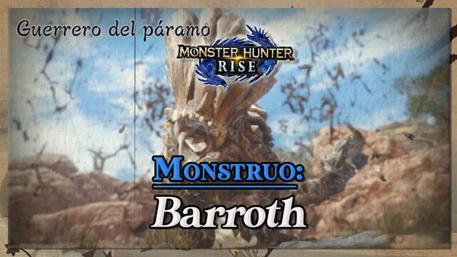 Barroth en Monster Hunter Rise: cómo cazarlo y recompensas