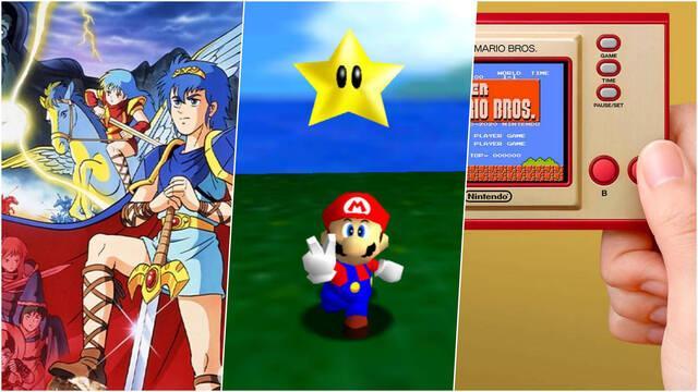 Super Mario 3D AllStars Game & Watch Fire Emblem Switch