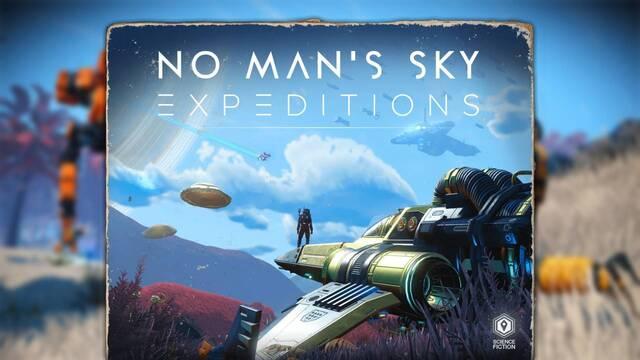 No Man's Sky se actualiza gratis con Expeditions.