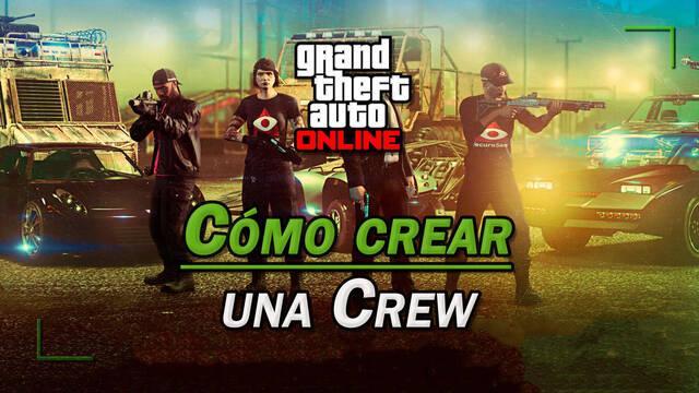 GTA Online: Cómo crear una Crew, invitar amigos o unirse a una