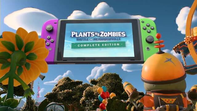 Plants vs. Zombies: Battle for Neighborville explica las dificultades de llegar a Switch.
