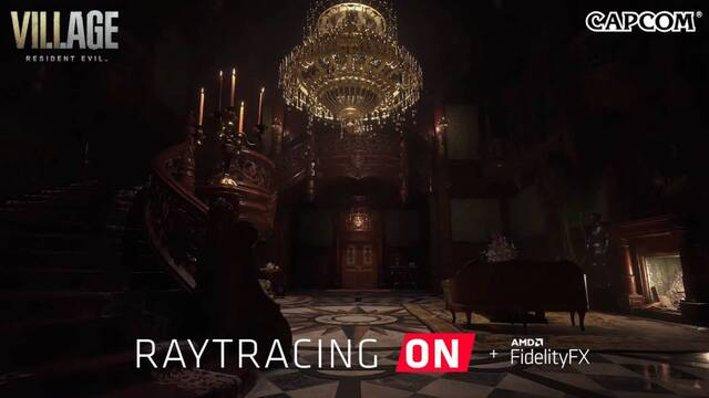 Resident Evil 8: Village tendrá ray-tracing en PC.