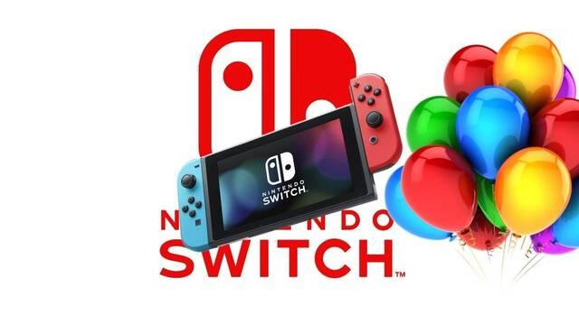 Nintendo Switch cumple 4 años