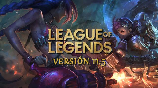 League of Legends v11.5: Ajustes a campeones en la jungla y cambios de objetos