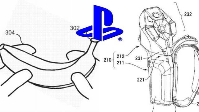 PlayStation Sony patente mandos plátanos psvr 2
