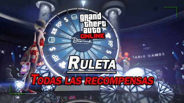 Ruleta de GTA Online: TODAS las recompensas y truco para ganar el coche