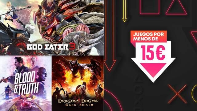 Ofertas PS Store juegos por menos de 15 euros