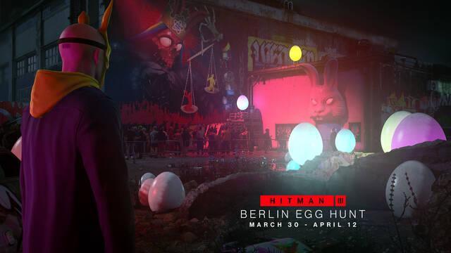 Hitman 3 marzo caza de huevos berlín